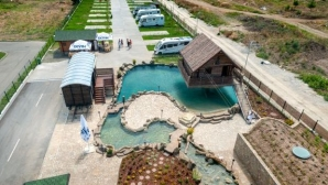 The hi-tech five-star city glamping Alliance welcomes visitors in the ancient...