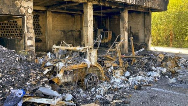 Кемпер за 100 000 евро изгоря в Букурещ