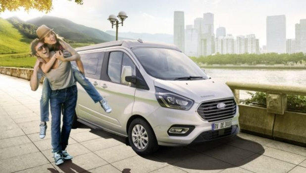 Globevan e.Hybrid - хибриден кемперван от Dethleffs