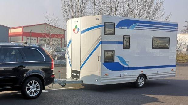 Румънската концептуална каравана Amos T500
