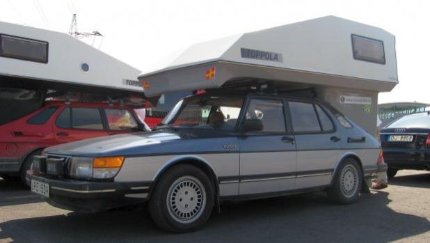 От архивите: Saab Toppola camper