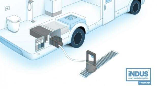 iNDUS – интелигентната система за тоалетни от Thetford