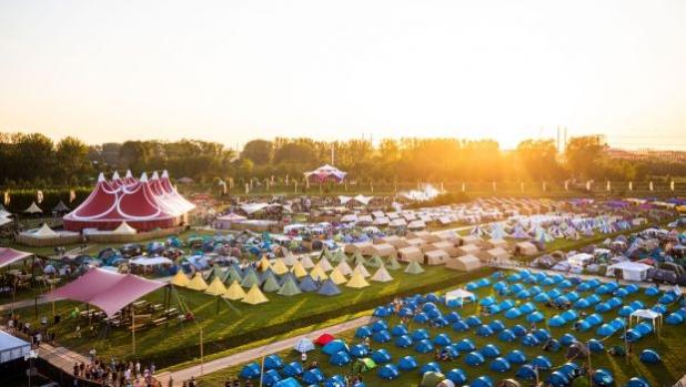 Снимка на деня: Къмпинг зоната на фестивала MYSTERYLAND